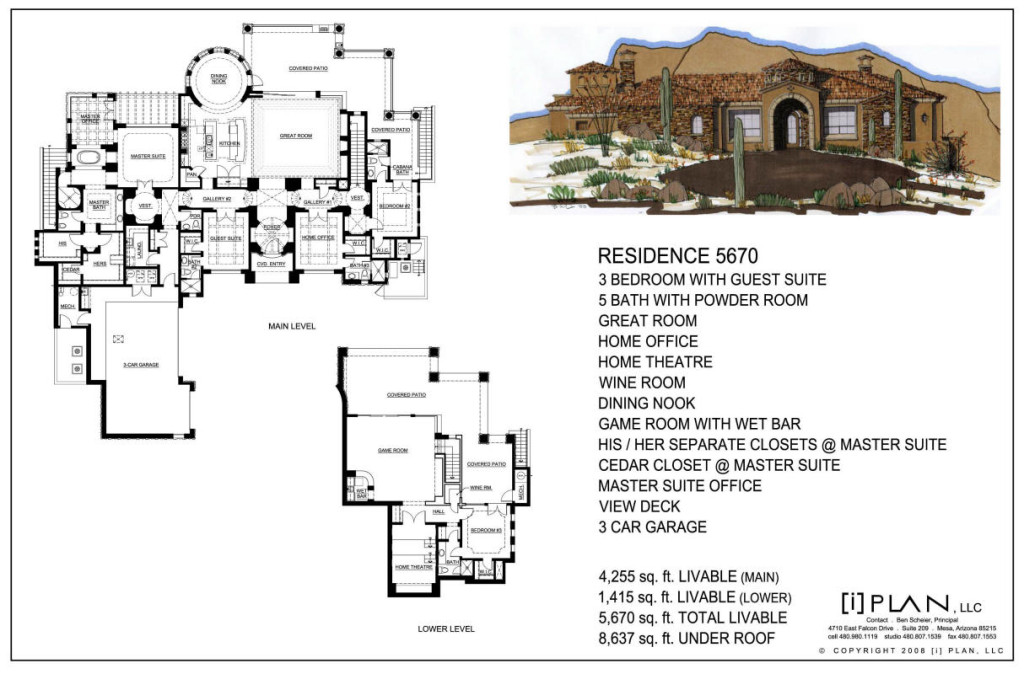 Luxury home plans 10000 square feet for Floor plans 5 000 square feet