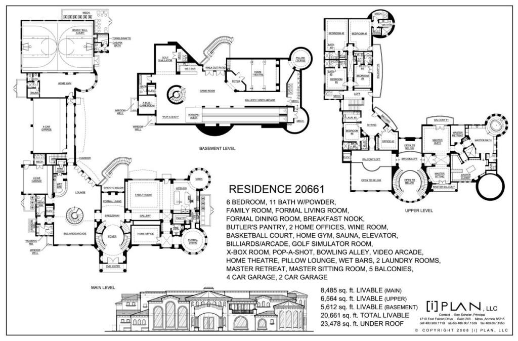 House Plans 7000 Square Feet House Plan Plans Free