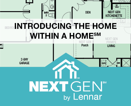 Next gen concept lennar homes and i plan llc for Concept homes llc
