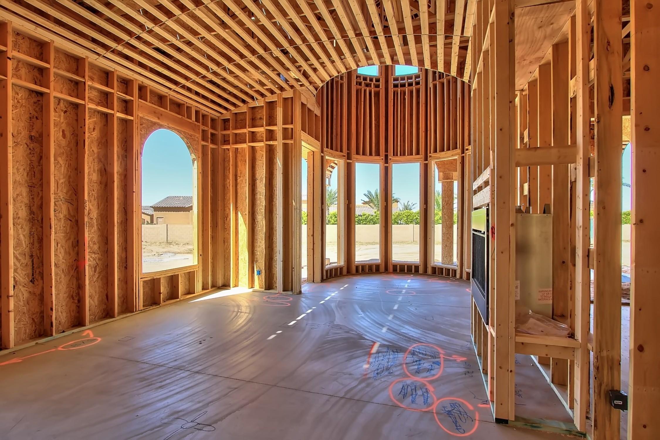 Virtual tour and photos of a custom home design by i plan for Custom home plans arizona