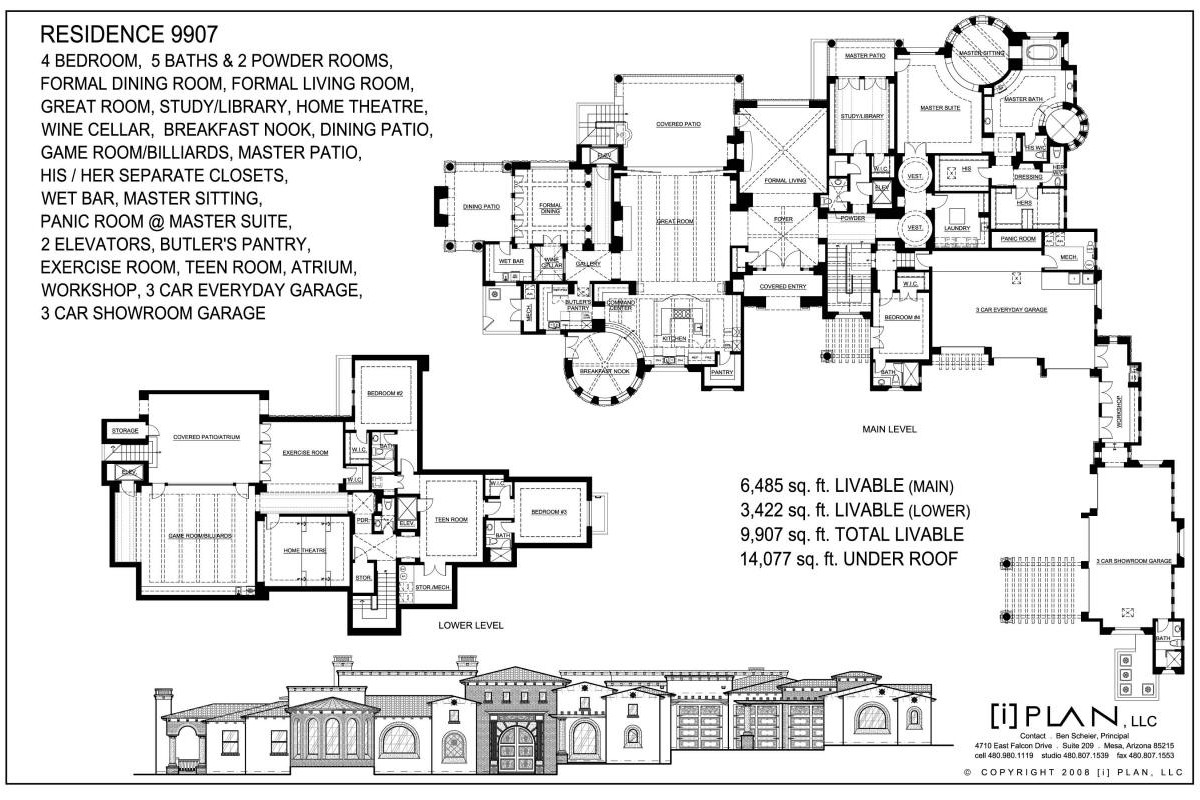 10 000 sq ft home floor plans for 10000 square feet building