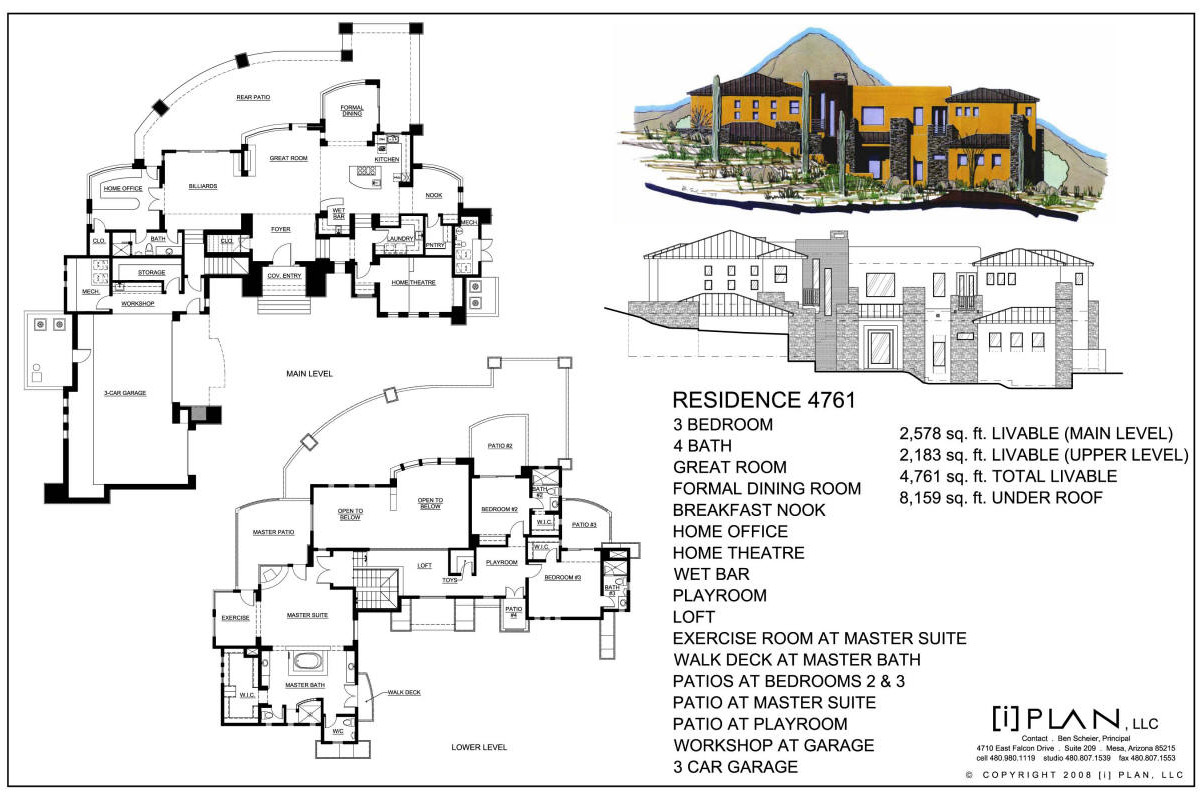 Home Floor Plans 5000 Sq Ft 5 Bedroom 2 Story 5000 Sq Ft