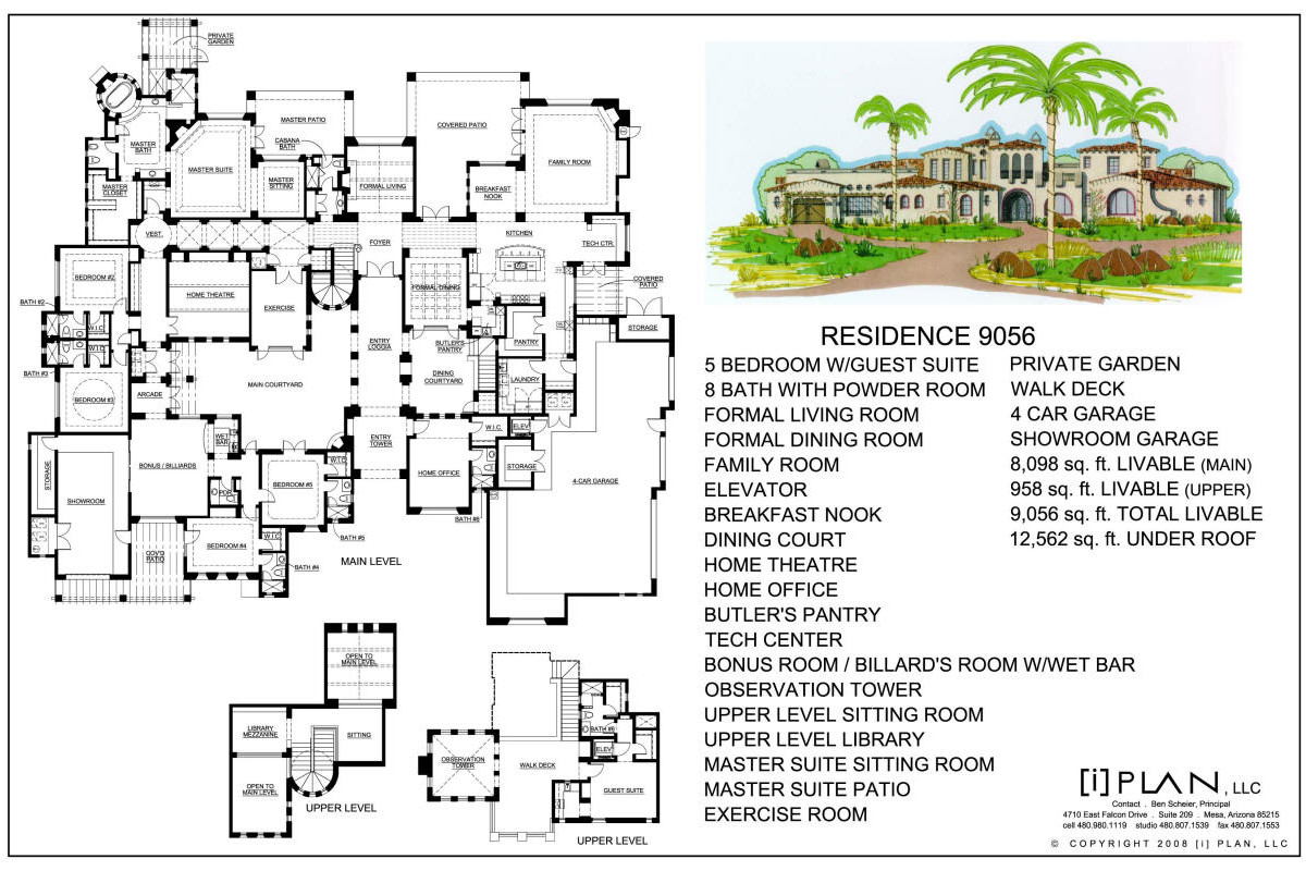 Floor plans 7 501 sq ft to 10 000 sq ft for 10000 square feet building