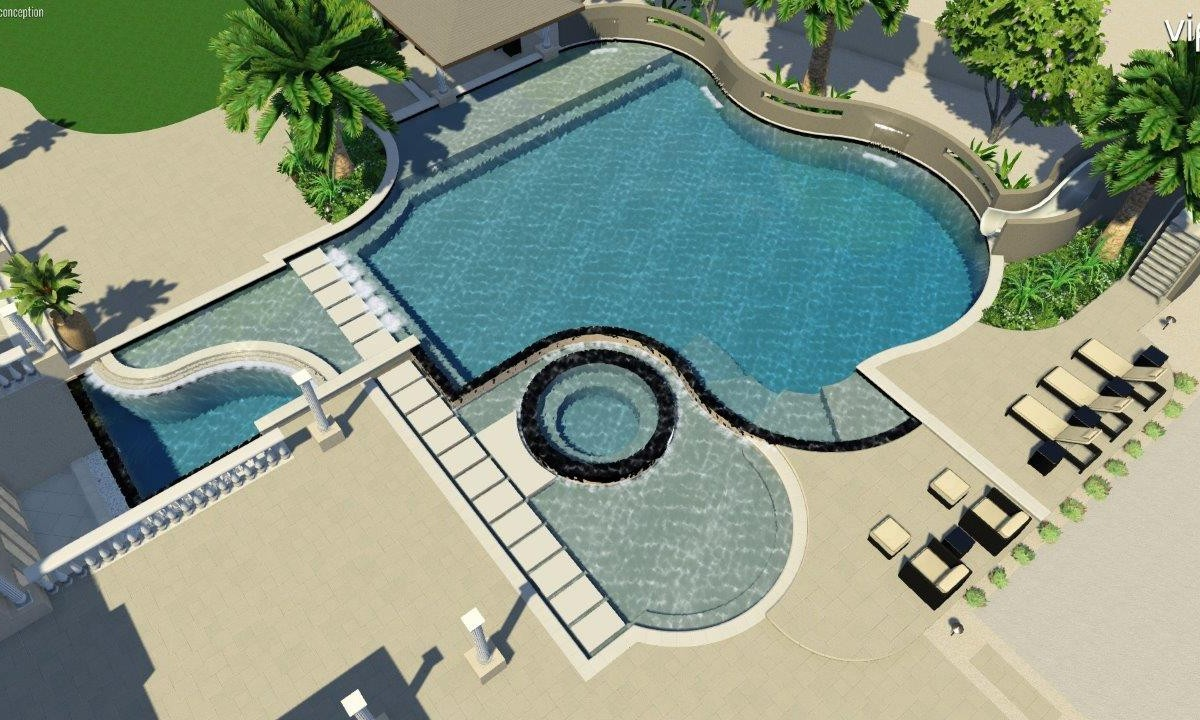 Pool Design Concept for a Current Project in Seville Golf and ...
