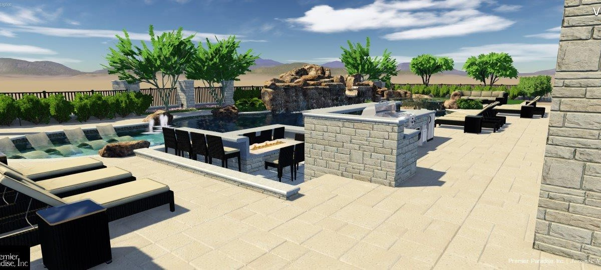 Pool design concept for a current project in las sendas for Pool design concepts