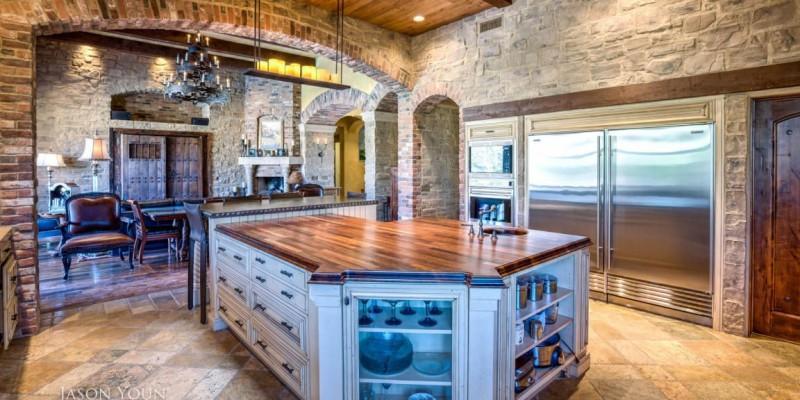 Tuscan bachelor pad i plan llc custom residential and for Bachelor pad house plans