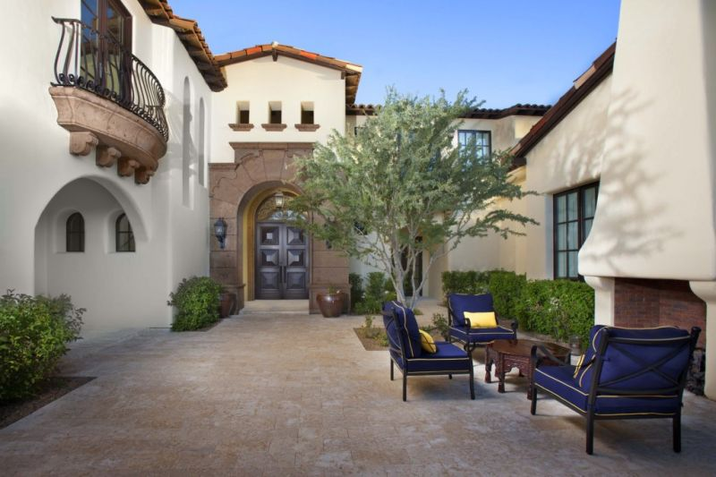 Santa Barbara Style - PV, AZ - I PLAN, LLC - Arizona's Premier ... on napa valley style home designs, texas style home designs, aspen style home designs, florida style home designs, key west style home designs,