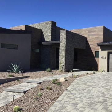 Desert Contemporary Home Design