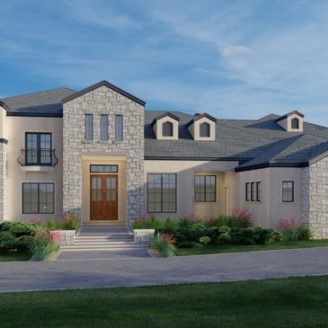 Massive Farmhouse Currently Under Construction in the Southeast Valley