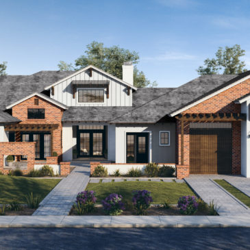 A Custom Home Design by I PLAN, LLC to be Built in Scottsdale, AZ
